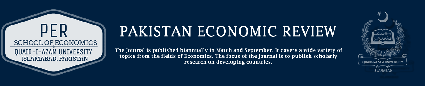 Pakistan Economic Review